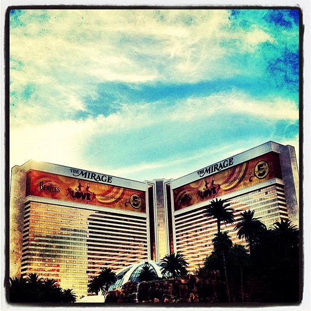 The Mirage (Taken with Instagram at The Mirage Hotel & Casino)