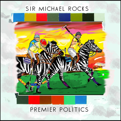 Sir Michael Rocks of The Cool Kids has just dropped a solo mixtape, Premier Politics. This isn't anything like he has dropped with Chuck Inglish. Thats because you arn't getting any of those PHAT, CHUNKY, HEAVY BEATS that Chuck loves to produce. So if your looking for that you might want to go back and listen to the Bake Sale. This is Sir Michael Rocks in a new element.