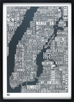 rozanes:  ReCraft Your Maps: Typography Maps by Bold and Noble Jane Tobitt and David Wardle of design collective Bold and Noble designed these map made up of typography.  A great keepsake of home or your favourite holiday destination. Take a look at their great collection of graphic prints.—————————————————————————————————Displayed on Recraft | Facebook | Twitter—————————————————————————————————  this is awesome