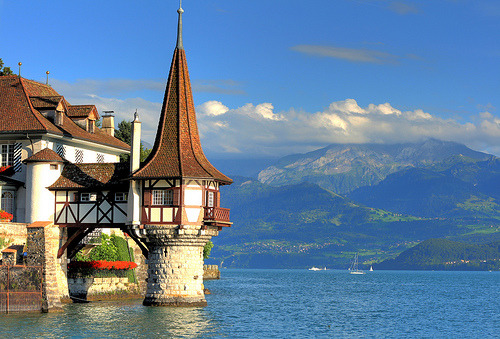 Beautiful castle in Switzerland!! withlovexo