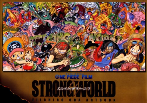 j-808:  ONE PIECE : Strong World Artbook Cover Scan …