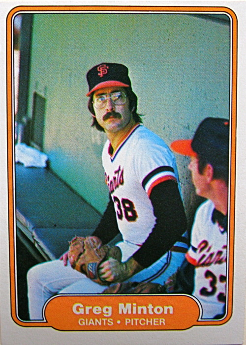 I had a 1.80 ERA in 46 appearances for the Giants in 1979.