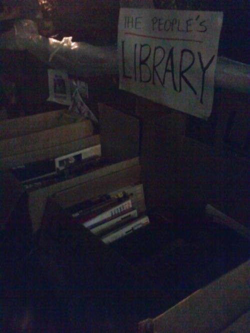 The People's Library @ Occupy Wall Street
