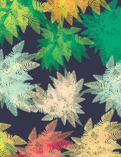 welcometothejungalow:  Ferns, by Justina Blakeney