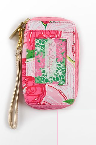 meganrantsaboutcollege:  Preordered my wristlet!  Not wild about Lilly but I do love the DZ print.