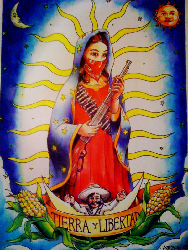 todos-somos-marcos:  Our Lady of Struggle