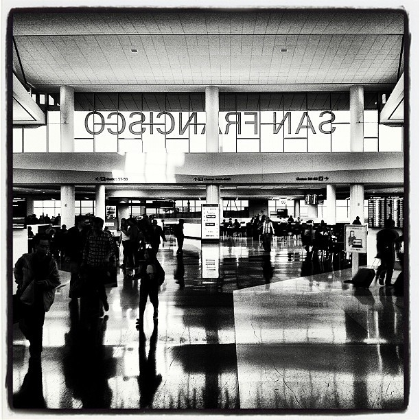 Taken with Instagram at San Francisco International Airport (SFO)