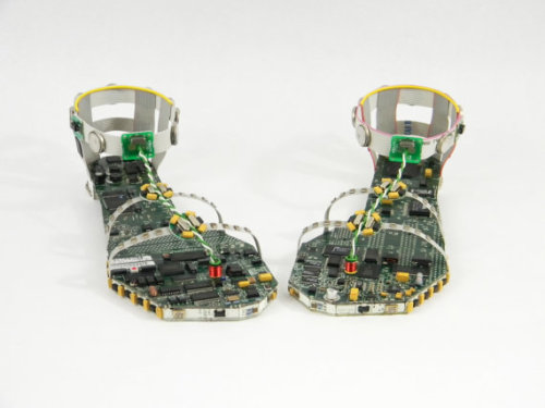 atypical-shoes:  (via Data Sandals by pcbcreations on Etsy)