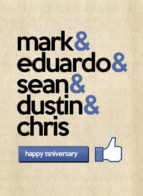 Happy TSNIVERSARY.