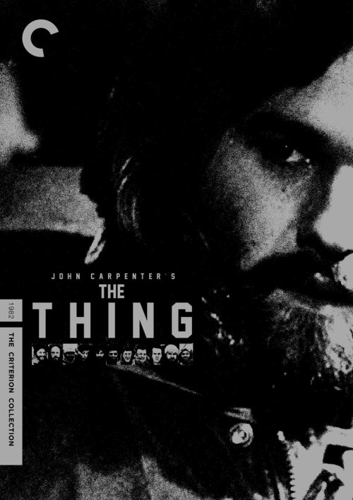 "heavenztrash:  Oh dear god. Please make this happen. Please? fakecriterions:  Fits in the Faked From the Dead theme, too! midmarauder:  Criterion Cover for John Carpenter's ""The Thing"""