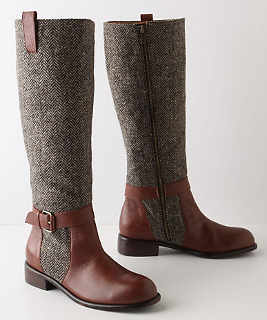 hhemmeger:  Anthropologie, I love you. Please ship me a pair of these; you have my address. I thank you in advance for your generosity.  The girl I date should own riding boots like this…
