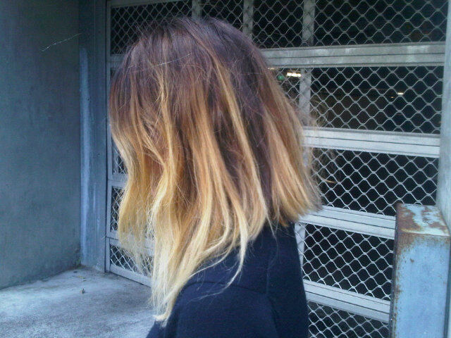 clubfairie:  might ombre my hair like this in the summer yay