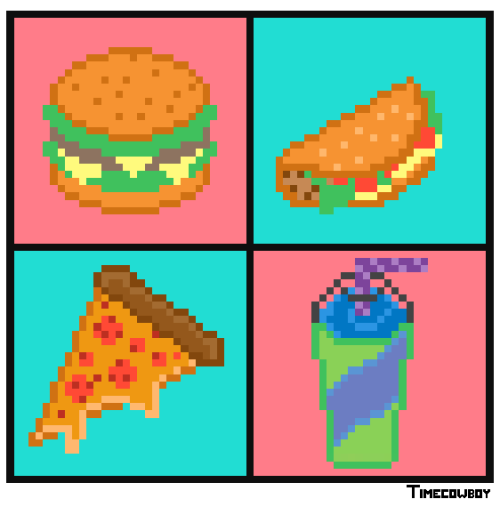 Burger/Taco/Pizza/Slurpee