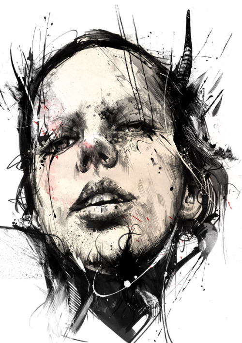 Russ Mills | byroglyphics on Tumblr - 'Nata5' part 2