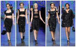 Dolce&Gabbana Woman Fashion Show SS12