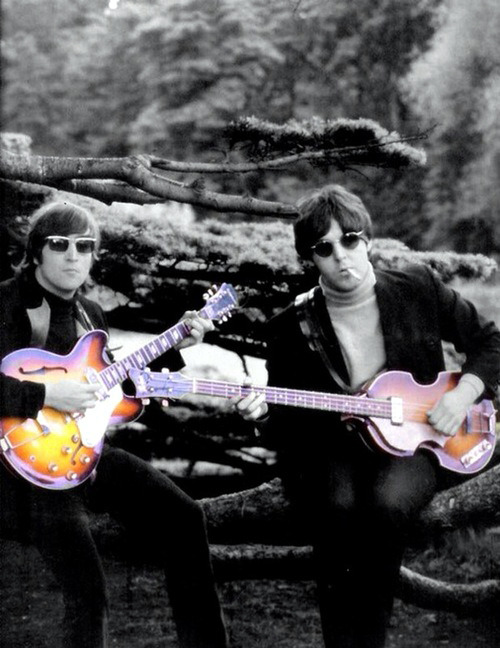 "beatlemaniafab4:  Sometimes, in the middle of the night, John would ask, ""Are you awake?' and I would say, ""Yes."" And he said, ""You know, they always cover Paul's songs and never mine, and I don't know why. – Yoko"