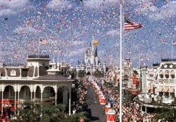 October 1, 1971 Walt Disney World opens.