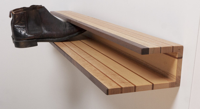 Shoe rack by Mitz Takahashi (via mitztakahashi.com)