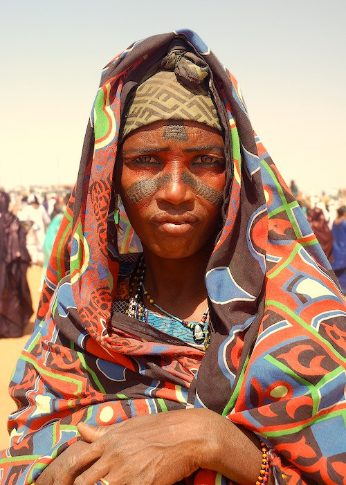 culturalcrosspollination:  Tuareg woman