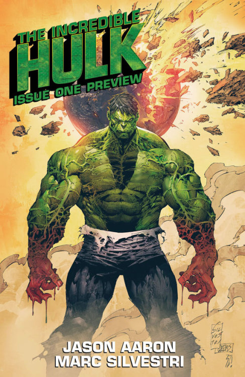 The Incredible Hulk      Jason Aaron/ Marc Silvestri