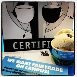 U of R students want more #FairTrade products on campus. (Taken with Instagram at University of Rochester)