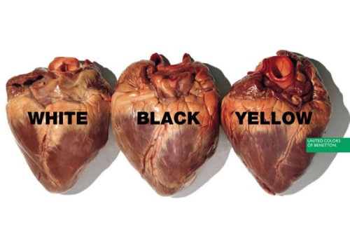 Controversial advertising campaign from United Colors of Benetton