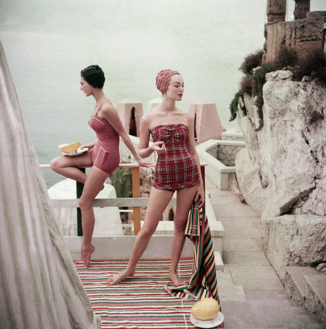 I'm a huge fan of vintage swimsuits.