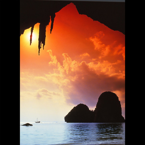agoodthinghappened:  Princess Cave .. Krabi.. Thailand by ZedZaP.. on Flickr.