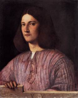 missfolly:  Portrait of Young Man (Giustiniani Portrait) by Giorgione, 1504