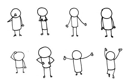 A day in the life of a stickman.