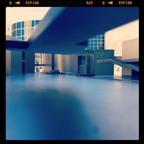 Getty miniature 2 #model #architecture #lowangle #miniature  (Taken with instagram)