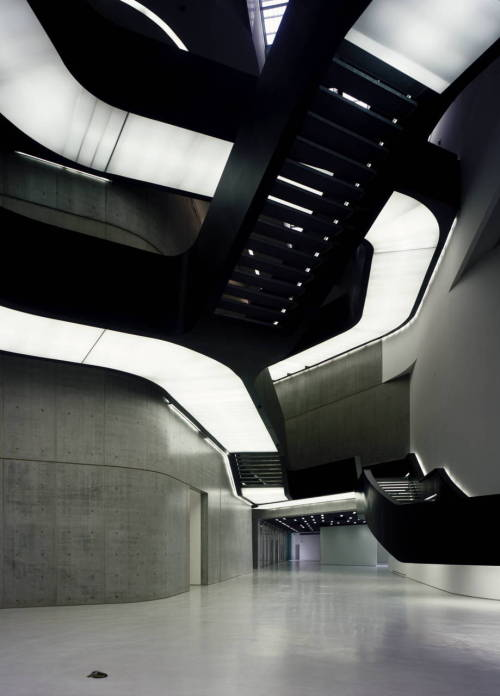 theabsolution:  MAXXI: Museum of XXI Century Arts (Italy)  by Zaha Hadid