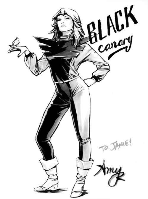 awyeahcomics:  Black Canary by Amy Reeder  -
