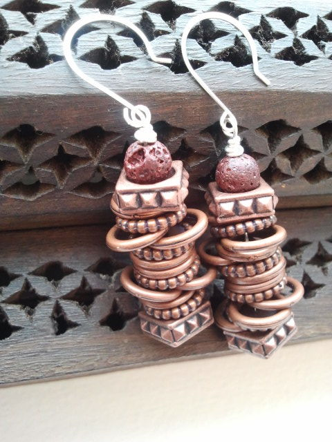 The Mayuli earrings, $15 http://www.etsy.com/listing/82936643/the-mayuli-earrings