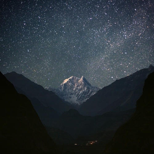 """Magnificent Milky Way and Radiant Stars"" (via WeHeartIt)"