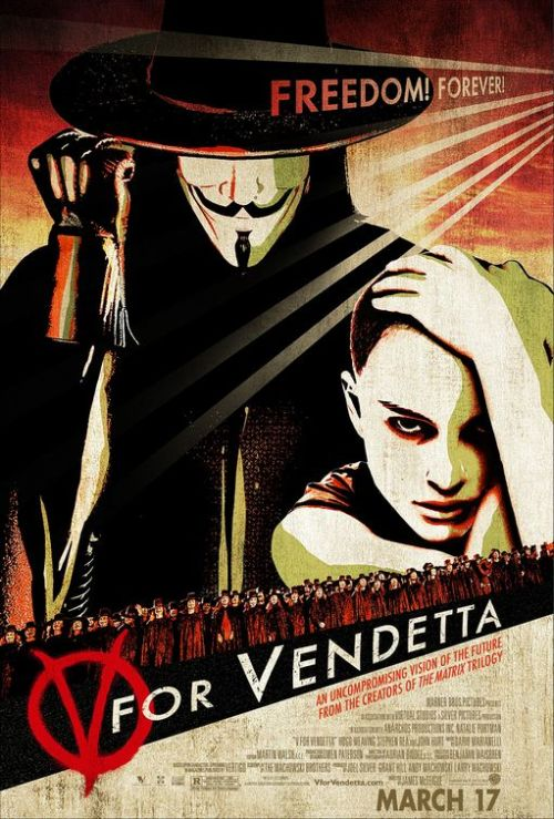 oliphillips:  V for Vendetta Film Poster Designed by Concept Arts