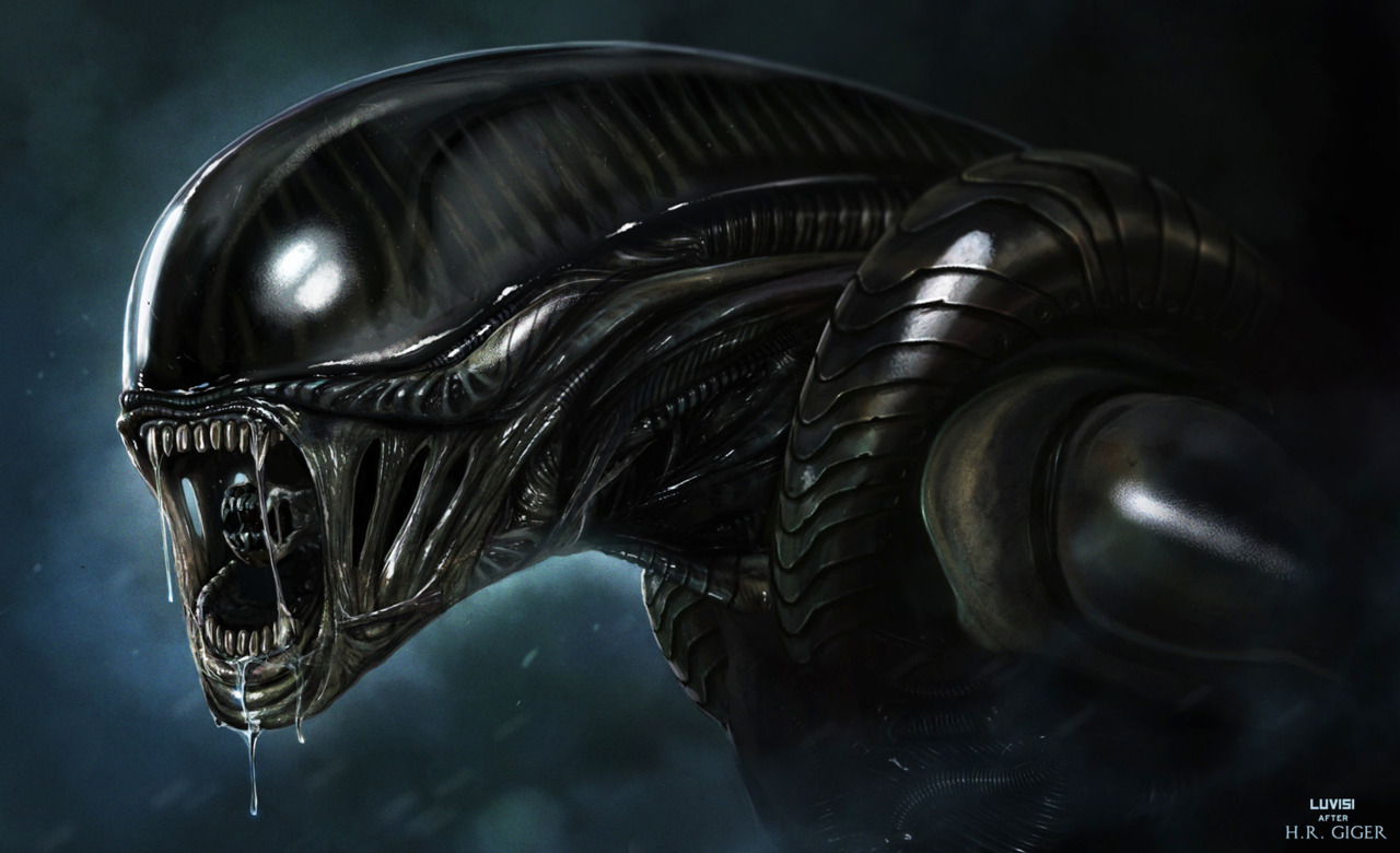 flutterbye338:  ALIEN - H.R. GIGER PITCH - by `adonihs