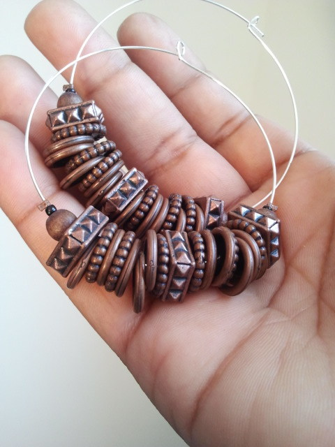 The Atong hoops, $12.75 http://www.etsy.com/listing/82971800/the-atong-earrings