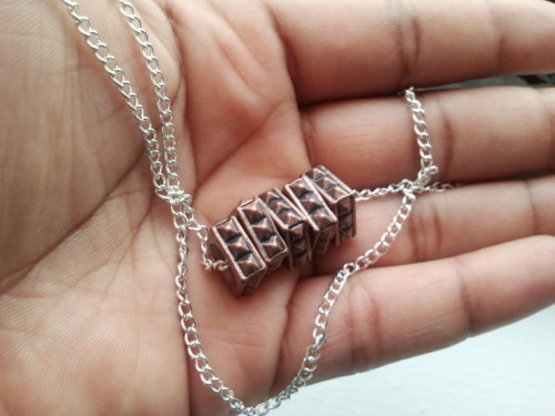 The Jaiye necklace, $12 http://www.etsy.com/listing/82972887/the-jaiye-necklace