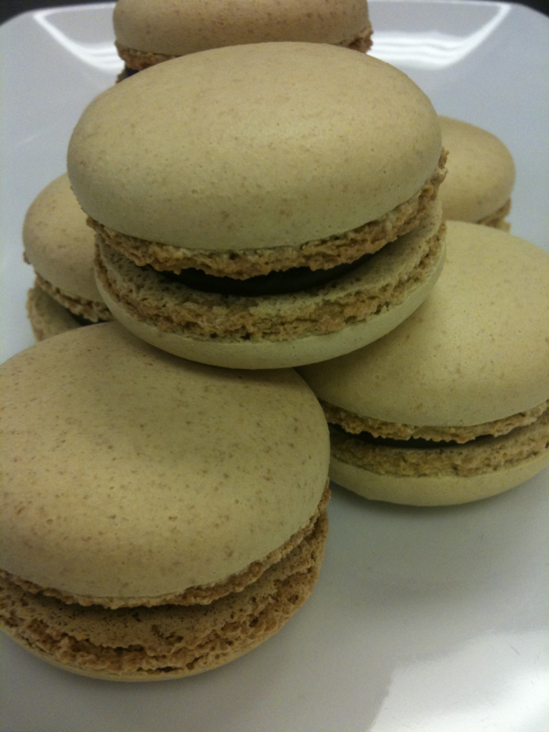 back by popular demand… French macarons at Lovely! currently filled with chocolate ganache. yummmmmmm.