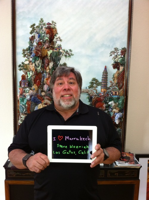 Steve Wozniak - Apple founder - from Los Gatos, California USA