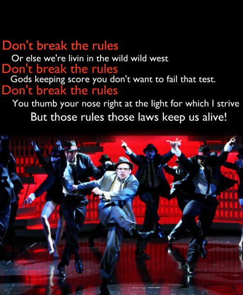 Don't Break The Rules - Catch Me if You Can Norbert Leo Butz <3