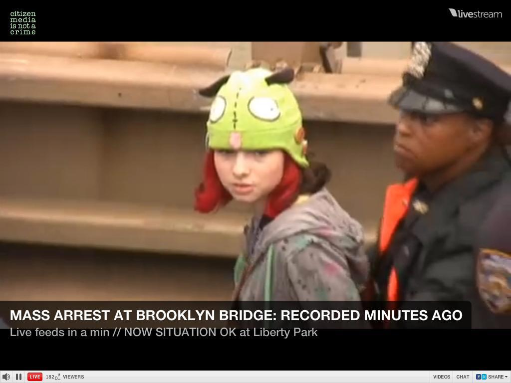 Look at this evil, dirty criminal with her Invader Zim hat. Thank God the police are here to protect us.