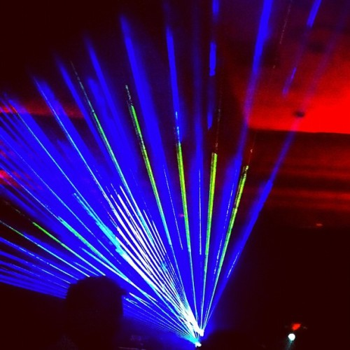 Lasers #tomkat (Taken with instagram)
