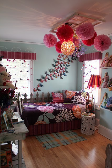 super girly boho bedroom