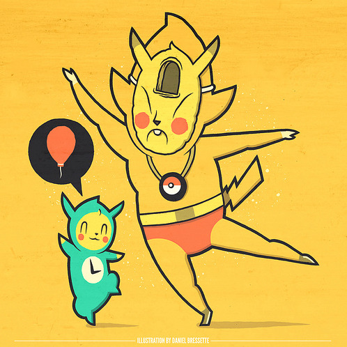 clearlywrong:  [Halloween Crossover|Pikachu|Tingle]