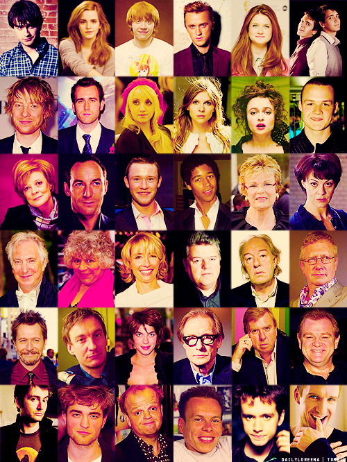 Cast of HP.