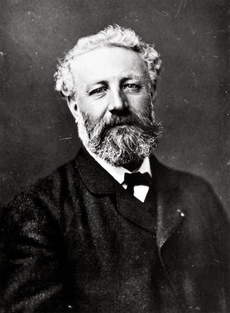 This is what Jules Verne looks like. Those look like the eyes of a nice guy. Thank you to Jules for making my early teenage years that much more adventurous. Photograph by Nadar who also took portraits of sculptors, painters, writers, poets, composers and others of his time including George Sand, Alphonse Daudet, Sarah Bernhardt, Victor Hugo, Antoine-Louis Bayre, Eugène Delacroix, Franz Liszt, Rossini and Charles Baudelaire. Good to see what some of those people looked like. Apparently, Nadar was a balloonist, which in the mid-1800s was kind of like being an adventurer-type like Richard Branson today (minus the publicity stunt aspect). As a friend to Jules Verne, Nadar influenced the content of some of Verne's writing.  Nadar portraits from the J. Paul Getty Museum and the MOMA and Histoire par l'image