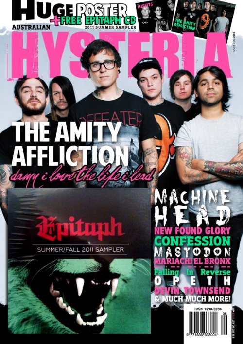 Here's the new issue of AUSTRALIAN HYSTERIA MAGAZINE that has an interview I did with BRIAN FALLON of the GASLIGHT ANTHEM and The HORRIBLE CROWES. He goes pretty in depth into the whole Horrible Crowes thing and yeah, heaps good.