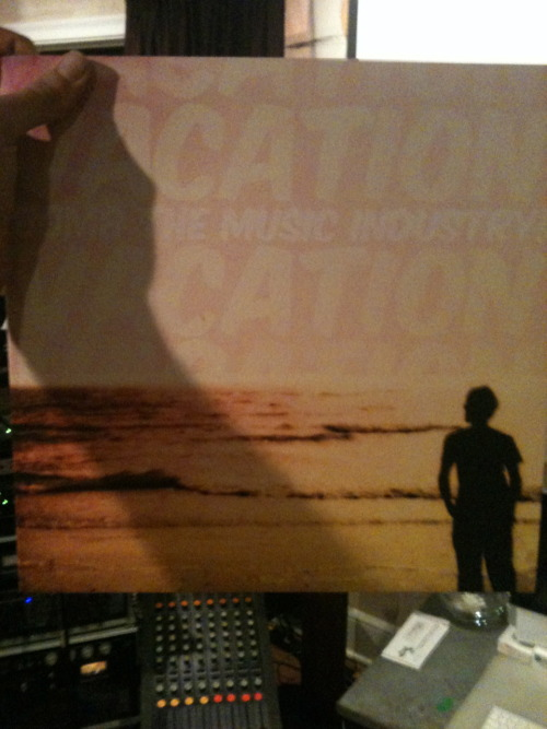 Bomb the Music Industry! Vacation Vinyl.  This makes me pumped.